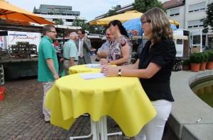 13-07-20 Infostand Wochenmarkt 2