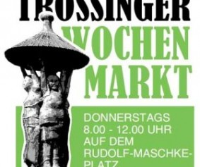 Trossinger Wochenmarkt farbe