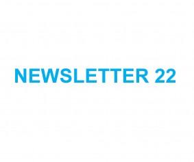 NEWSLETTER 22.